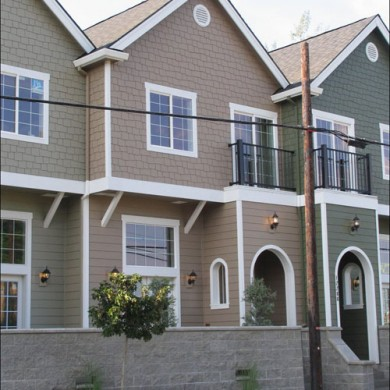 image of 2nd Street Town homes exterior